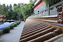 琉璃瓦屋顶