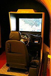 汽车模拟驾驶游戏机