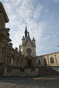 尚蒂伊城堡小教堂建筑