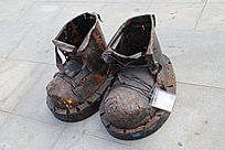 手工制作的铁鞋