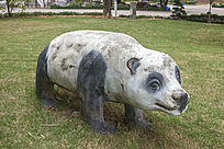 小熊猫雕刻