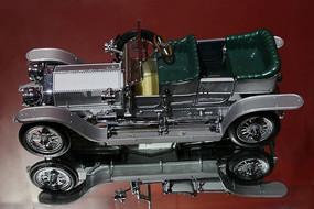 英国劳斯莱斯银魅汽车模型