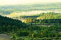 山林云海景观