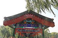 传统中式建筑回廊