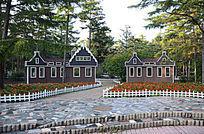 花园欧式小房子