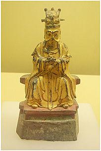 北宋鎏金佛像