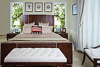 床尾榻皇帝板式床