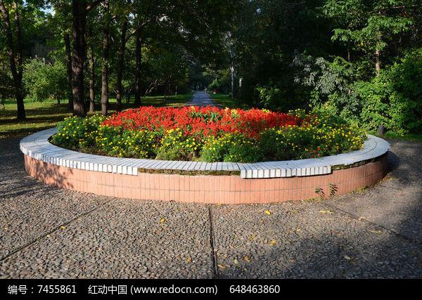 花坛设计图彩铅