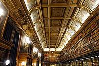 尚蒂伊城堡书房顶灯装饰