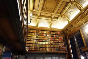 尚蒂伊城堡书房屋顶与书架