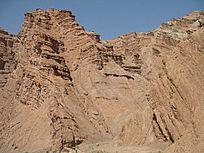城堡般的山体