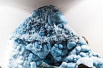 淡蓝色的菱锌矿