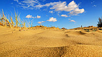 低视角沙漠风光