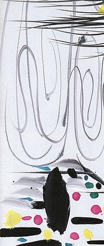 极简风格 水墨 抽象画