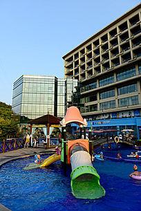 温州金海岸开元度假村游泳池