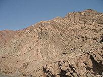 远处拍摄山体