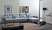 动感时尚花纹沙发