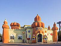儿童公园卡通城堡