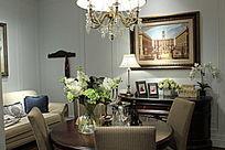 美式客厅效果