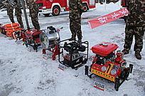 消防动员演习