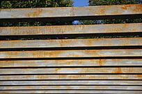 槽钢护栏线条背景素材