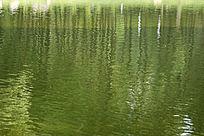 湖水倒影肌理素材