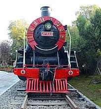 老式蒸汽机车