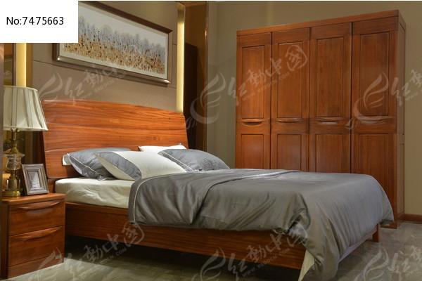 踏踏米木床图片小卧室