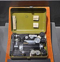 日军便携式显微镜