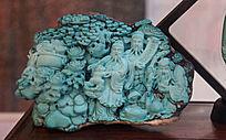 福禄寿神像雕
