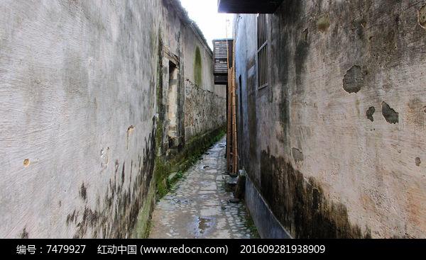 古朴的宏村小巷图片