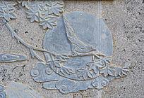 花鸟浮雕装饰