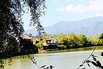 美丽的秀里河道景观