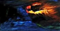 欧美抽象油画 国外抽象油画