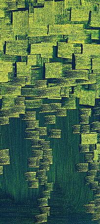 现代抽象油画 色块抽象画 无框画