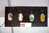 中国四大美女玉雕件