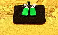 绿宝石耳坠