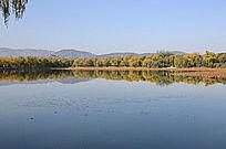 颐和园玉泉山湖光山色