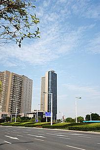 郑东新区的高层建筑