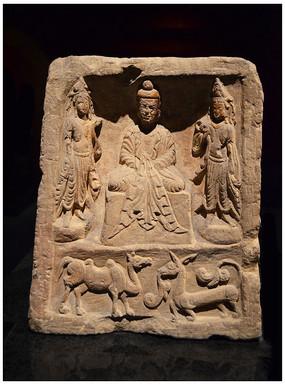 佛像雕刻艺术龛
