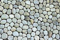 河卵石背景墙