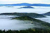 林海云雾风景