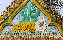 泰国园卧佛浮雕