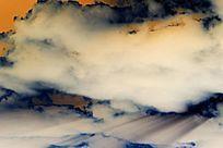 云彩状的理石纹理