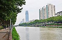 高楼大厦城市风景