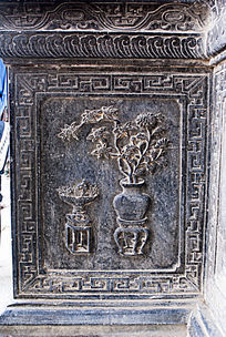 古代木雕图案