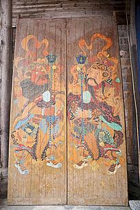 门神古代门