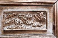木雕浮雕家具图案