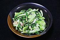 农家菜清炒油菜