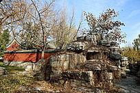 颐和园蚕神庙外景